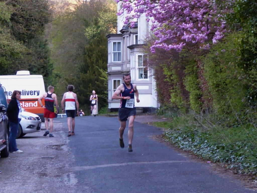 James running hard for Wirksworth RC