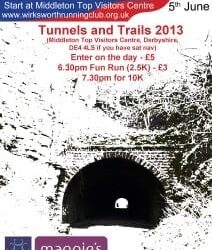 Tunnels and Trails this Wednesday!