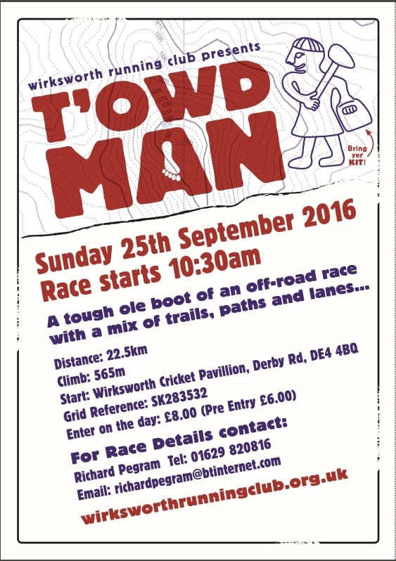 T'Owd man 2016 results