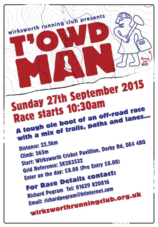 T'Owd man 2015 flyer and info