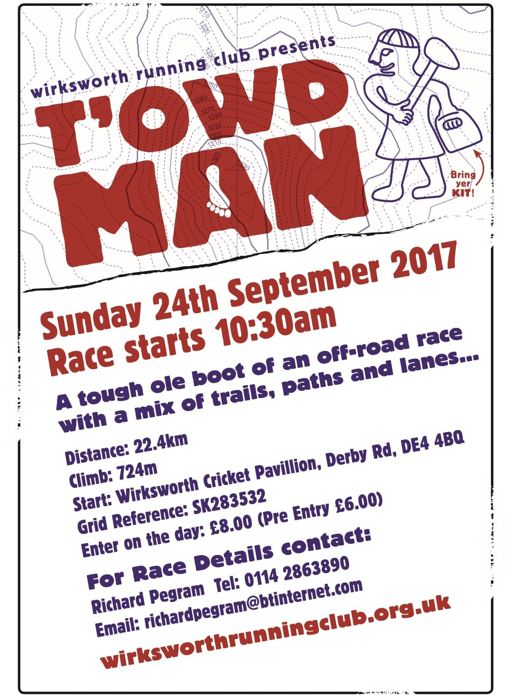 T'Owd Man race 24th September