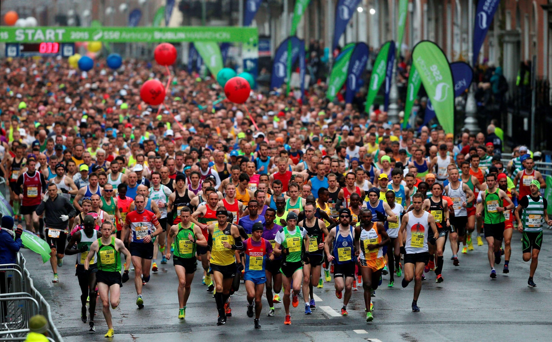 Dublin City Marathon 26th October 2015
