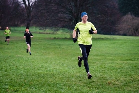 DEKL20160102A-004_C.jpg Picture: Dean Martin Today saw 100's of runners gather at Darley Park for a weekly 5km timed park run. Pictured are the runners in action.