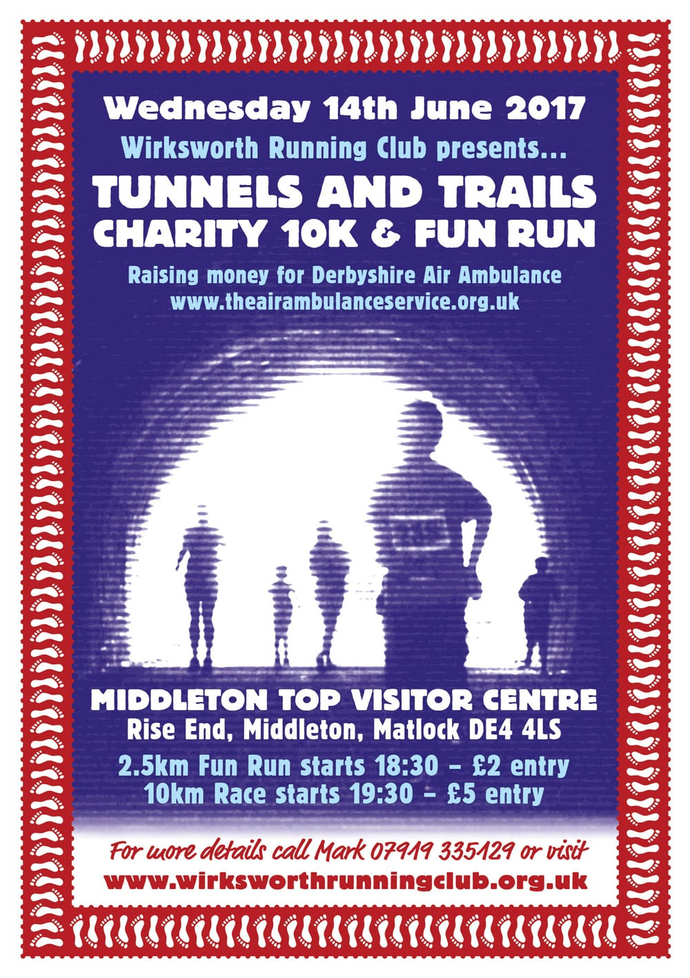 2017 Tunnels and Trails poster