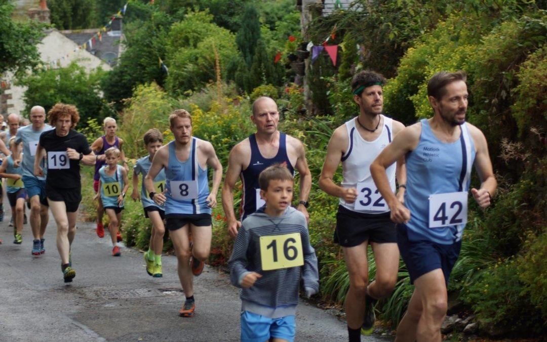 Bonsall Fell Race. 3.8 miles, 650 feet of ascent.  30 July 2018
