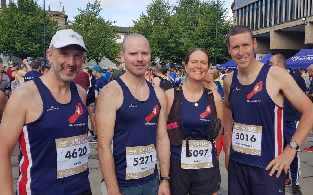 Derby half marathon 9th June