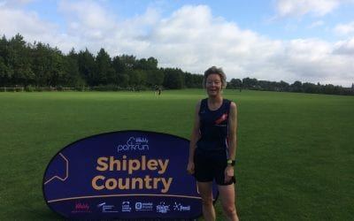 Parkrun report 17th August