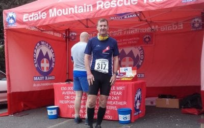Nine Edges Challenge organised by the Edale Mountain Rescue, 14th September