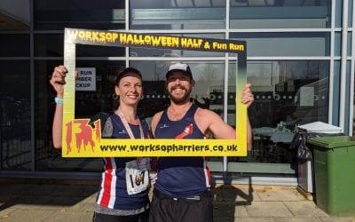 Worksop half marathon 27th October