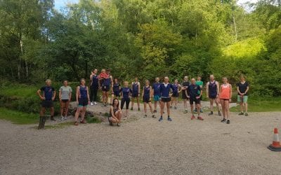 WRC 1-mile relay race 20th July
