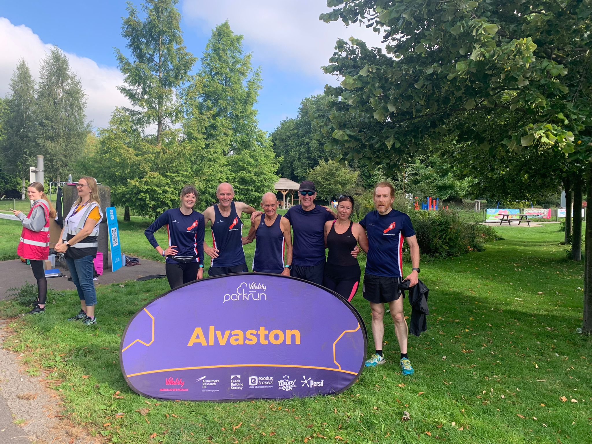 Parkrun report 28th August, 2021
